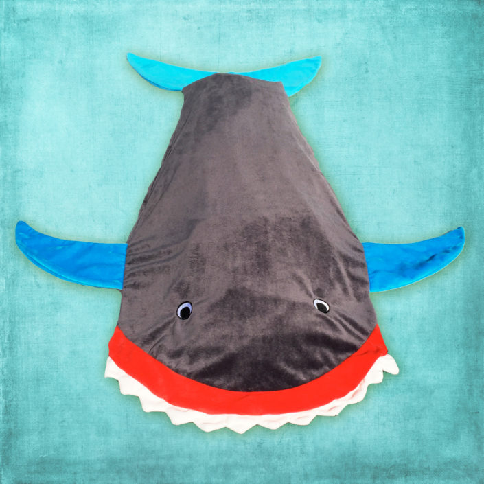 Ocea Creations Shark Blanket