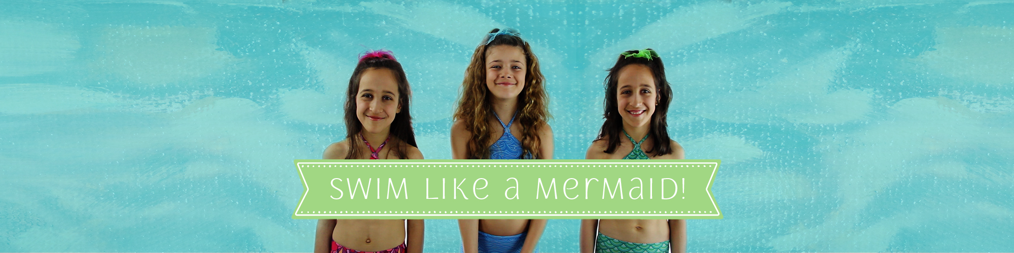 Swim like a mermaid with Ocea Mermaid Tails